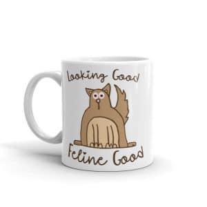 Funny Cat Pun Coffee Mug