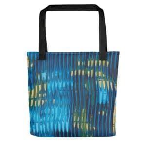 City Lights Acrylic Pattern Tote Bag
