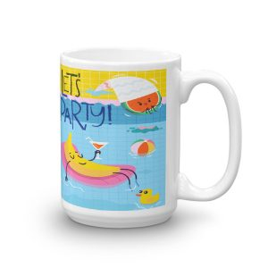 Let's Party Summertime Fun Mug