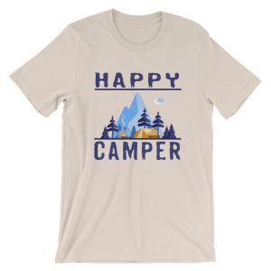 Happy Camper T-Shirt - Unisex Short-Sleeve