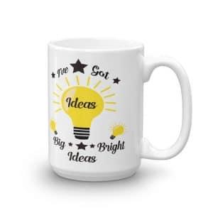 Big Bright Ideas Ceramic Mug