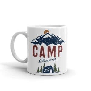 Camp Champ Camping Coffee Mug