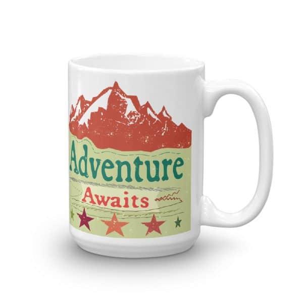 Adventure Awaits Ceramic Mug