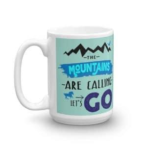 Mountain Adventure Ceramic Coffee Mug