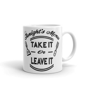 Funny Kitchen Wisdom Coffee Mug