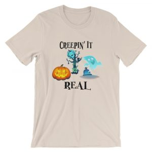 Creepin' It Real | Funny Halloween Tee | Unisex T-Shirt