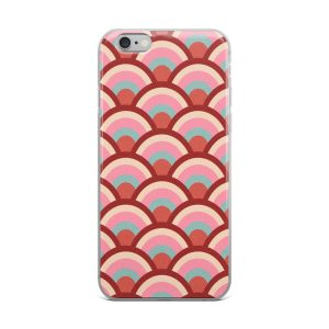 iPhone Case With Hipster Seashell Pattern