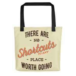 Tote Bag With A Positive Saying