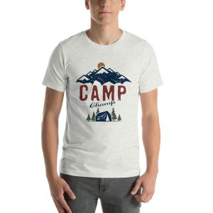 Camp Champ Unisex Camping T-Shirt