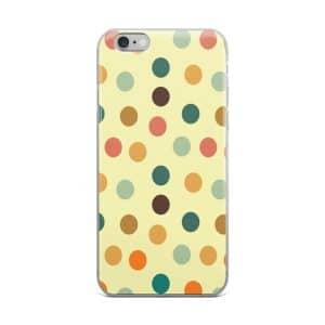 Hipster Polka Dot iPhone Case