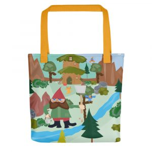 Gnome Workday Tote Bag