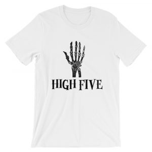 Halloween Tee | Skeleton Hand | Funny Halloween T-Shirt