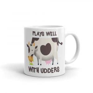 Plays Wells With Udders Coffee Mug