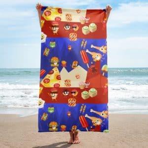 Fast Food Mania Towel
