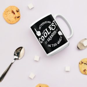 Coolest Grandpa In The World Coffee Mug