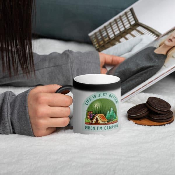 Life Is Just Better Whem I'm Camping Magic Mug