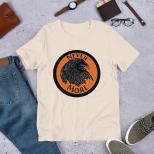 Raven Pun Short-Sleeve Unisex T-Shirt